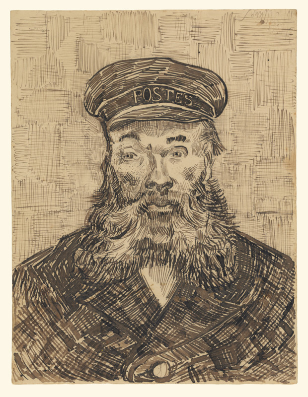 Vincent van Gogh, Portrait of Joseph Roulin, 1888, The J. Paul Getty Museum, Los Angeles