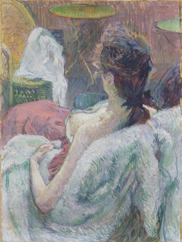 Henri de Toulouse-Lautrec, The Model Resting, 1889, The J. Paul Getty Museum, Los Angeles