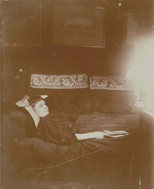 Edgar Degas, Louise Halévy Reclining, 1895, J. Paul Getty Museum