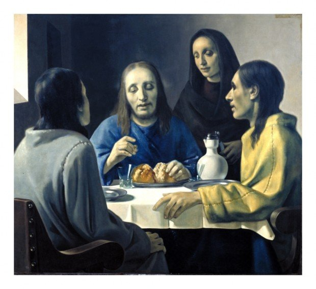 Han van Meegeren, The Supper at Emmaus by Han van Meegeren, 1936
