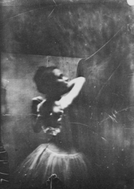 Edgar Degas, Dancer Adjusting Her Shoulder Strap, c. 1895-96, Bibliotheque Nationale de France