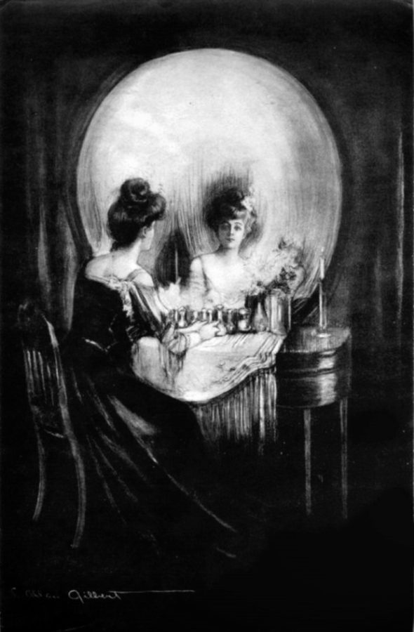 Charles Allan Gilbert, All is Vanity, All Is Vanity, 1892, private collection
