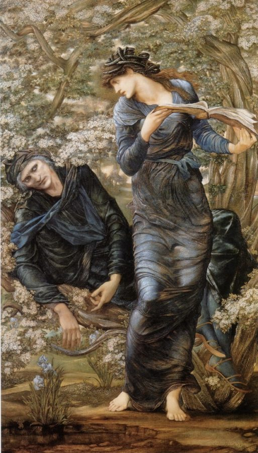 Edward Burne-Jones, Beguiling of Merlin, 1874, Metropolitan Museum of Art
