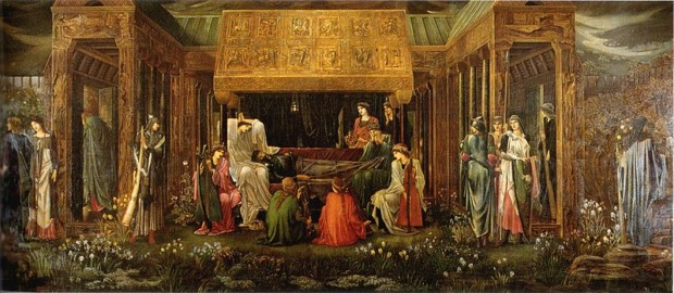 Edward Burne-Jones, The Last Sleep of Arthur in Avalon, c. 1881–1898, Ponce Museum of Art, Ponce, Puerto Rico
