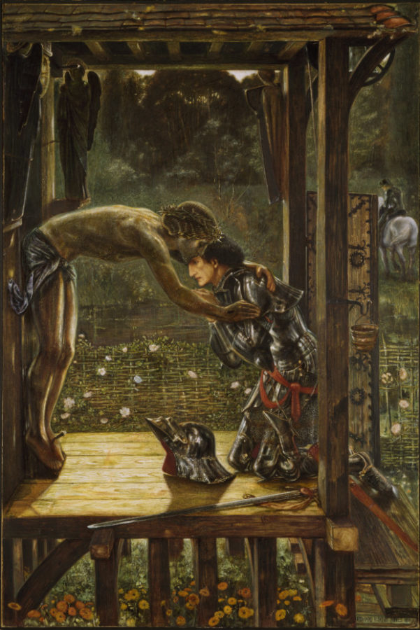 Edward Burne-Jones , The Merciful Knight, 1863, Birmingham Museum & Art Gallery, Birmingham