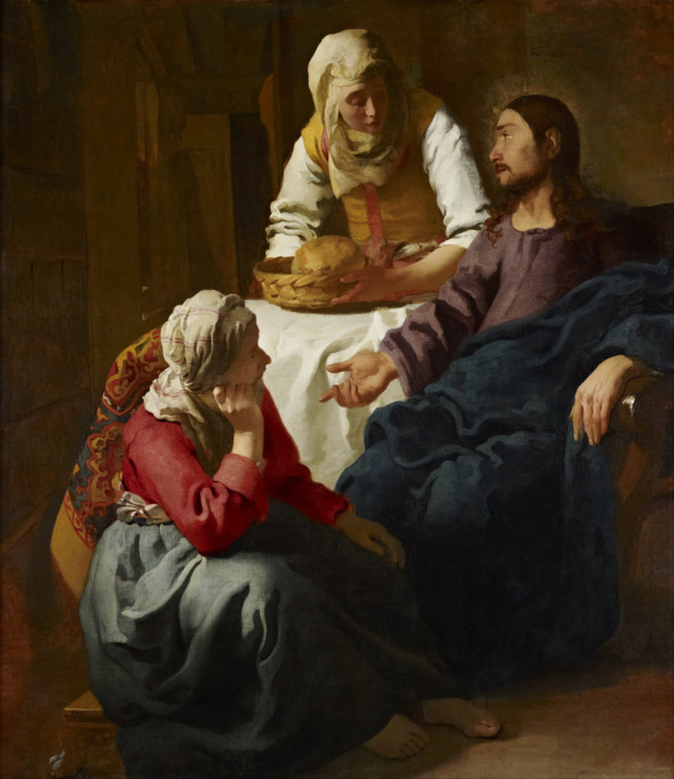 Johannes Vermeer, Christ in the House of Martha and Mary, 1655, Scottish National Gallery, Edinburgh