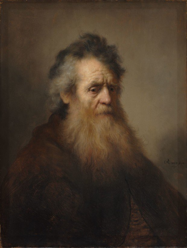 Rembrandt_Bearded_old_man