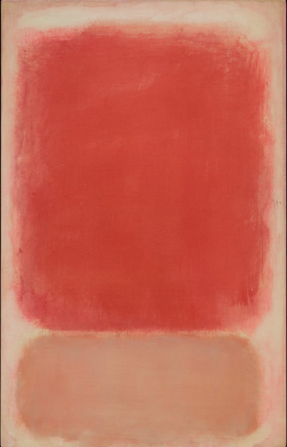 Mark Rothko, Red And Pink On Pink, c. 1953, The Museum Of Fine Arts, Houston; Earn as an Artist