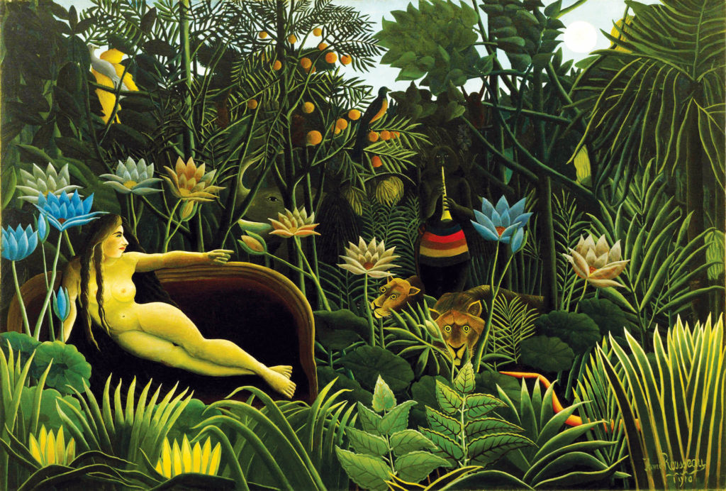 Henri Rousseau, The Dream, 1910, Museum of Modern Art, New York