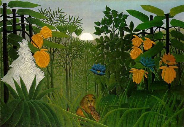 Henri Rousseau, The Repast of the Lion, c.1907, Metropolitan Museum of Art, New York