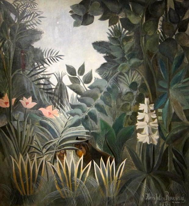 Henri Rousseau, The Equatorial Jungle, 1909, National Gallery of Art, Washington