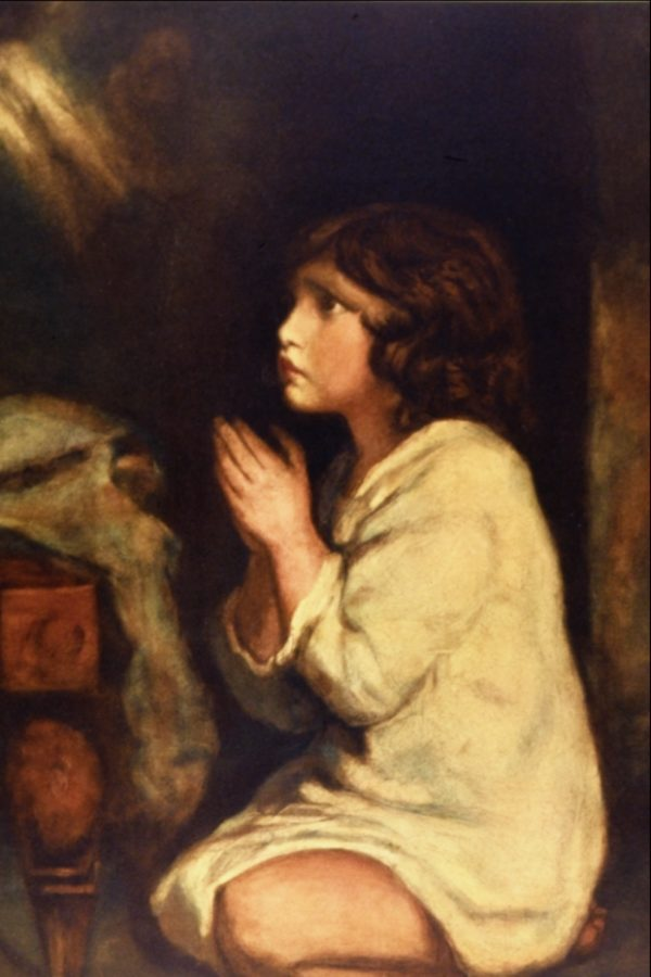 Sir Joshua Reynolds, The Infant Samuel at Prayer, The National Gallery, London