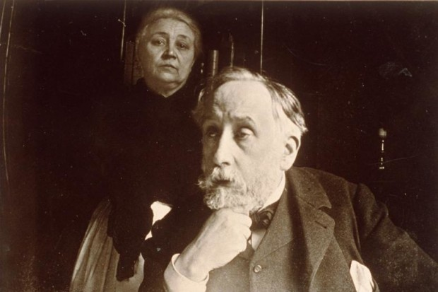 Edgar Degas, Self Portrait Photograph, 1895