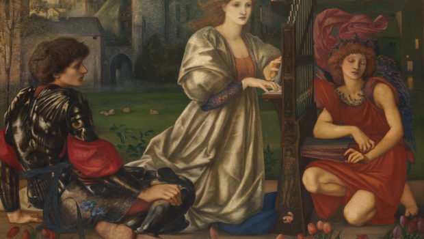 Edward Burne-Jones, The Love Song