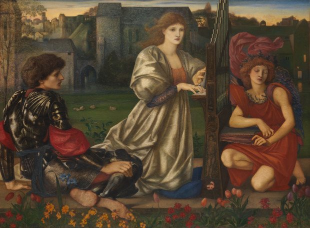 Edward Burne-Jones, The Love Song, 1868–77, Metropolitan Museum of Art