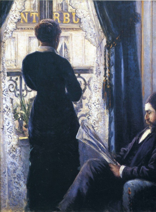Gustave Caillebotte, Interior, Woman at the Window, 1880, Private Collection