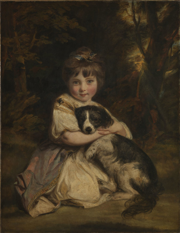 Sir Joshua Reynolds, Miss Jane Bowles, 1775, The Wallace Collection