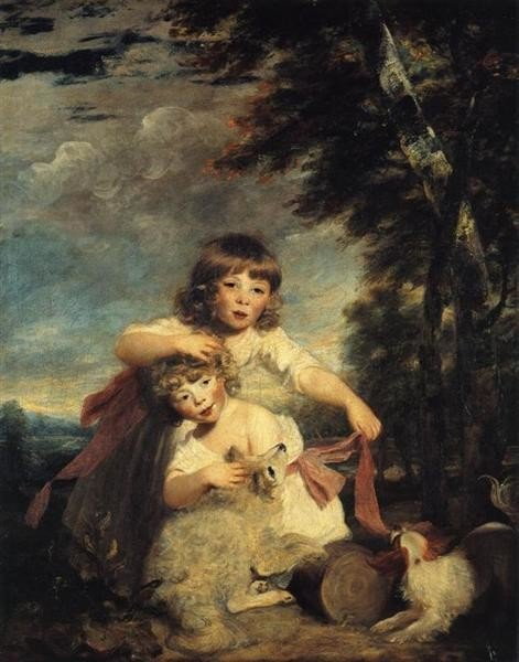 Joshua Reynolds, The Brummell Children, 1781-1782, The Wallace Collection