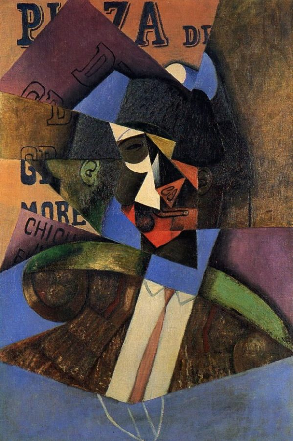 Juan Gris, The Bull Fighter, 1913, private collection