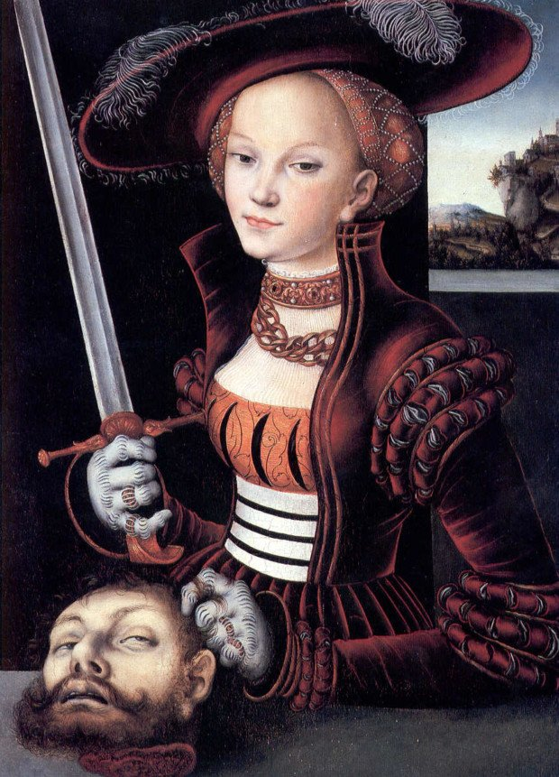 Lucas Cranach the Elder Judith with the Head of Holofernes, 1530