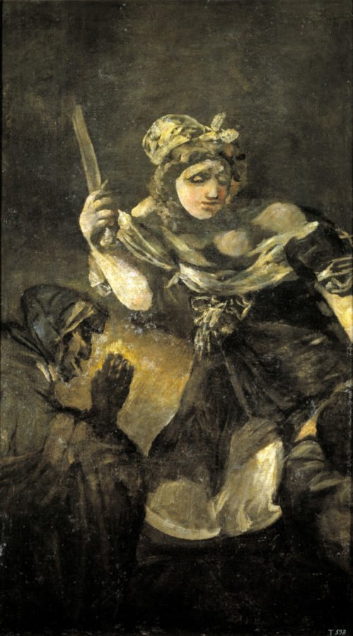 Francisco Goya, Judith and Holofernes, 1819-1823, Museo del Prado, Madrid