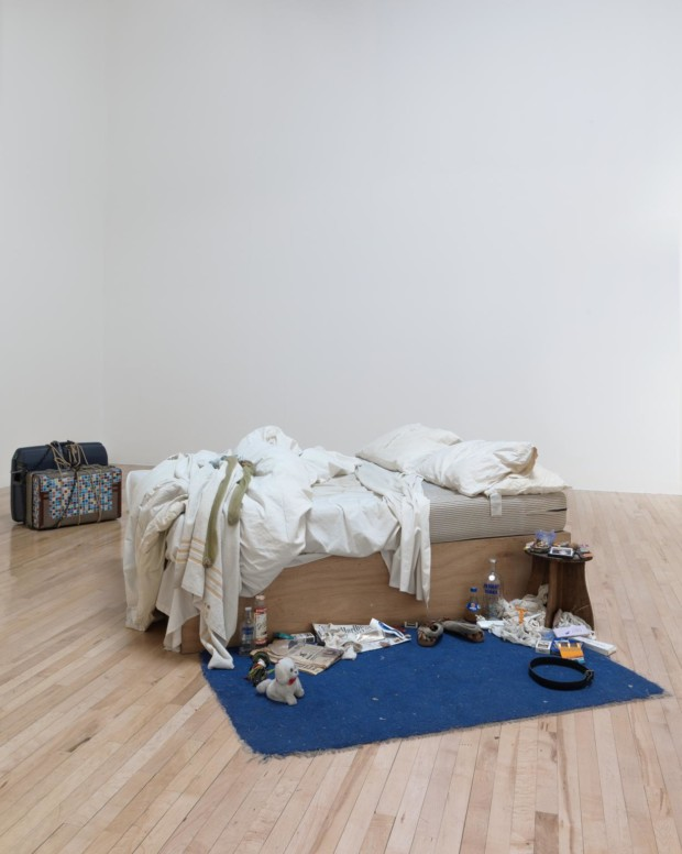 My Bed 1998 Tracey Emin born 1963 Lent by The Duerckheim Collection 2015 https://www.tate.org.uk/art/work/L03662