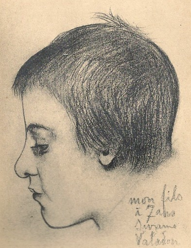 Suzanne Valadon, My son at 7 years old, 1890