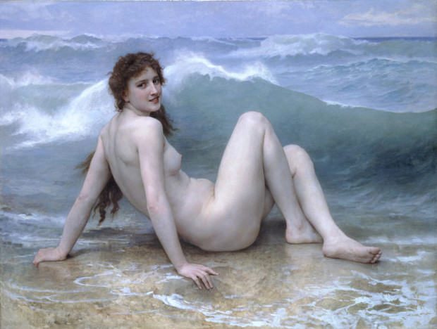 William-Adolphe Bouguereau, The Wave, 1896, Private collection