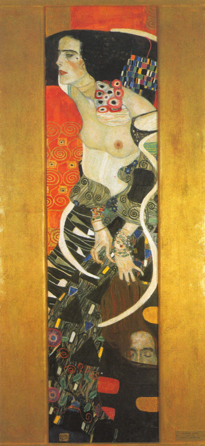 Gustav Klimt, Judith II (Salome), 1909, Cà Pesaro Galleria Internazionale d'Arte Moderna, Musei Civici Veneziani, Venice