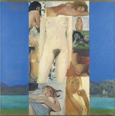 Pauline Boty, It's A Man's World II, 1965
