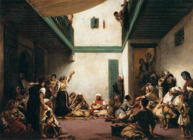 Eugene Delacroix, Jewish Wedding in Morocco, Paris 1837-1841, The Louvre