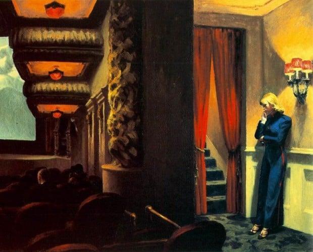 Edward Hopper, New York Movie, 1939, Museum of Modern Art, New York, NY, USA.