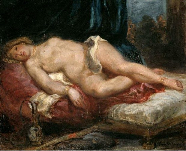 Eugène Delacroix, The Odalisque, 1825, Fitzwilliam Museum, University of Cambridge, UK