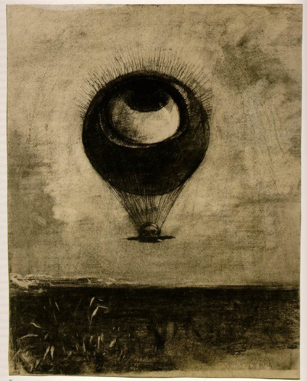 Odilon Redon, Eye-Balloon, 1878, Museum of Modern Art, New York