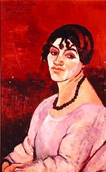 Suzanne Valadon, Self-portrait, 1918, Private collection