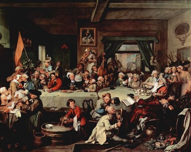 William Hogarth, An Election Entertainment, 1755, Sir John Soane's Museum, London