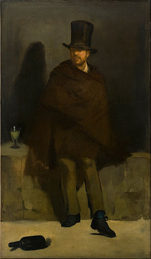 Edouard Manet, The Absinthe Drinker, 1859, Ny Carlsberg Glyptotek, Copenhagen