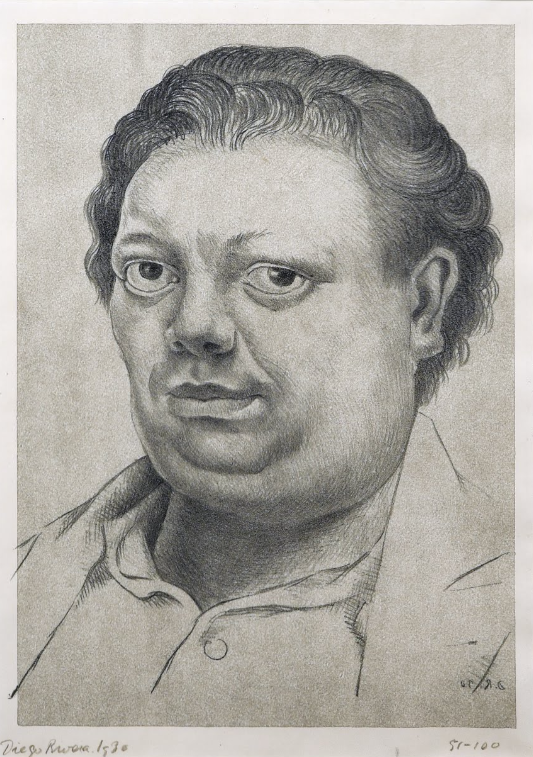 Diego Rivera, Self-portrait, 1930.