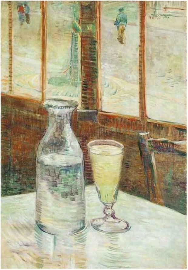 Vincent van Gogh, Still life with absinthe, 1887, Van Gogh Museum