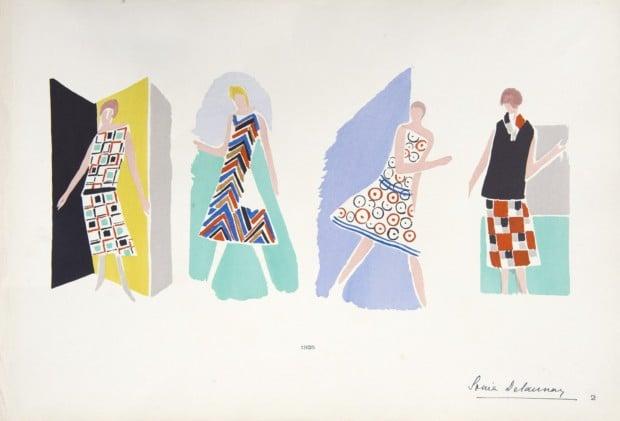 Sonia Delaunay, Dresses, 1928