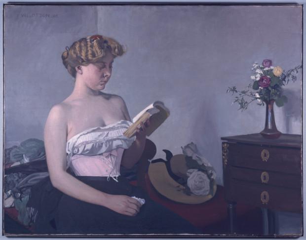 Felix Vallotton, Woman Reading, 1906, Kunstmuseum Bern