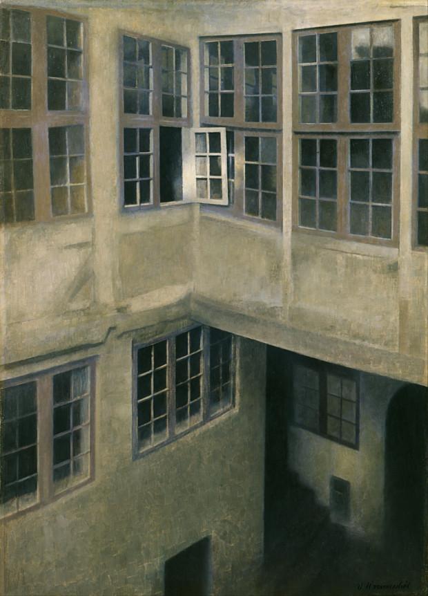 Vilhelm Hammershoi, Interior Of Courtyard Strandgade 30, 1899, The Toledo Museum of Ar