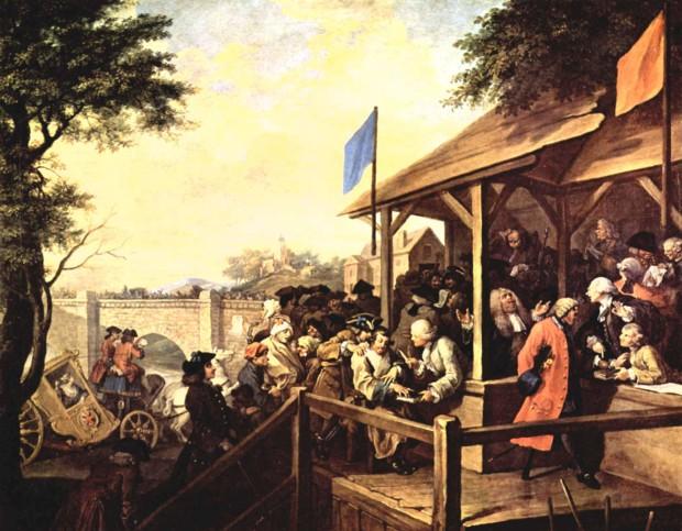 William Hogarth, The polling, 1755, Sir John Soane's Museum, London