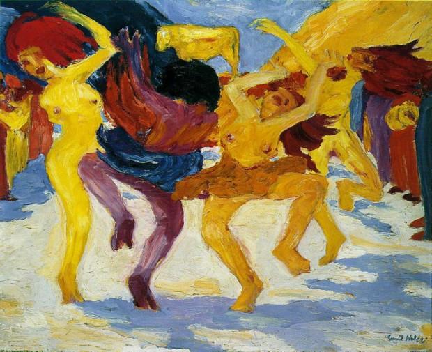 Emil Nolde, Dance Around Golden Calf, 1910, Staatsgemäldesammlungen, Munich