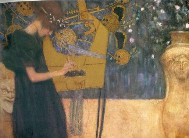 Gustav Klimt, Music, 1895, Bayerische Staatsgemäldesammlungen, Munich