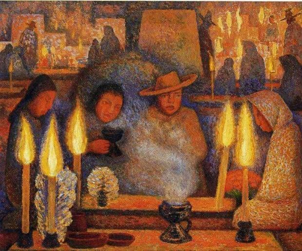 Diego Rivera, The Day of the Dead, 1944, Museo de Arte Moderno, Mexico City