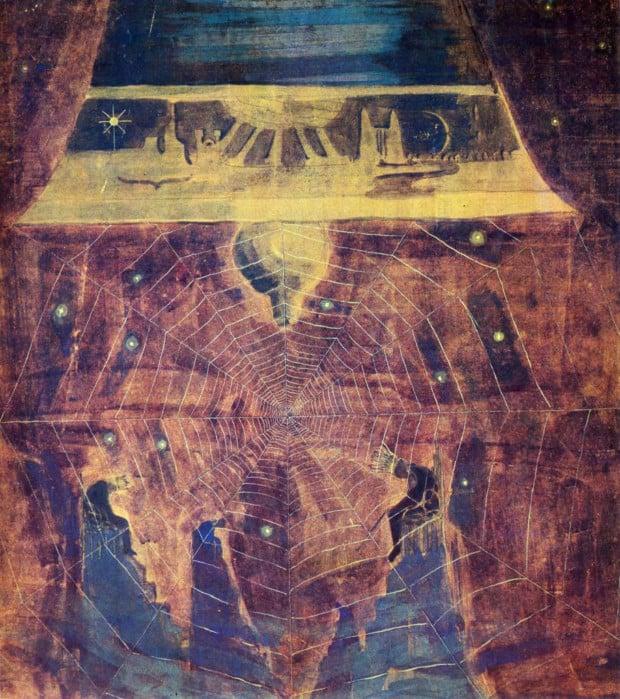 Mikalojus Konstantinas Čiurlionis - Finale (Sonata of the Sun). 1907, Memorial Museum of M.Ciurlionis, Kaunas
