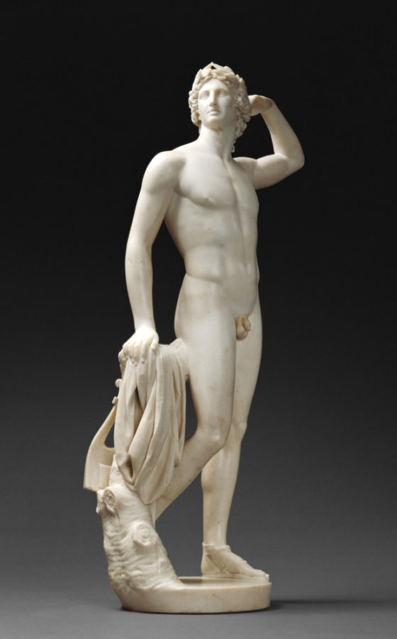 Antonio Canova, Apollo Crowning Himself, 1791-92, J. Paul Getty Museum, Los Angeles