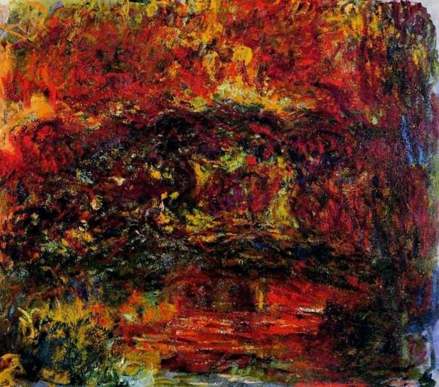 Claude Monet, The Japanese Bridge, 1918-24, Musée Marmottan-Monet, Paris
