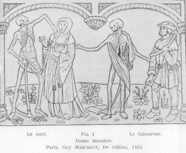 Danse macabre. Paris, Guy Marchant, 1st edition, 1485